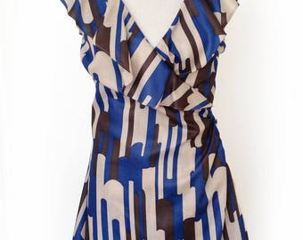 Amanda Jayne Cotton Wrap Dress