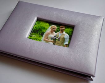 Custom Mini Wedding Scrapbook Album / Brag Book