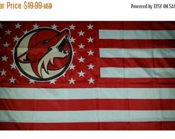 PRE-SEASON SALE 30% Off Arizona Coyotes, Coyotes Nation Flag or Banner 3' x 5'