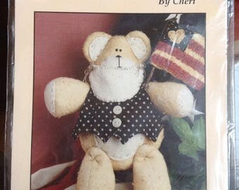 Samuel Bear Doll Pattern