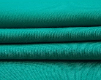 """Bluish Green Fabric, Indian Decor, Home Accessories, Dress Fabric, Sewing Crafts, 40"""" Inch Rayon Fabric By The Yard PZBR3O"""