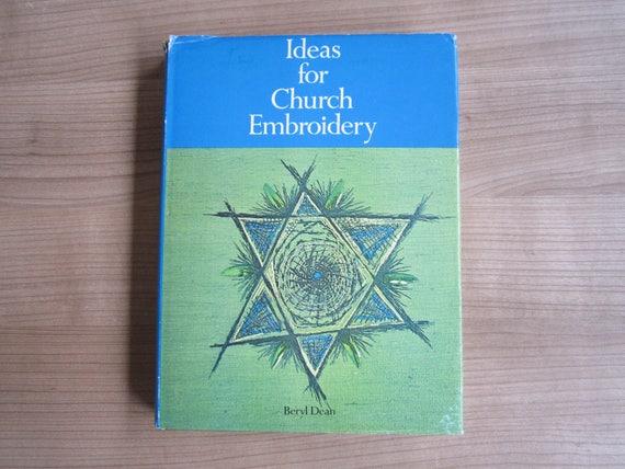 Ideas For Church Embroidery By Beryl Dean 1968