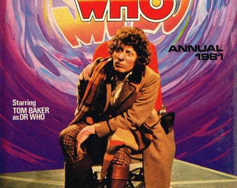 Doctor Who Annual 1981  - Hard cover book