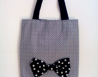 Tote bag black and white (FREE SHIPPING)