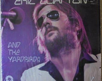Eric Clapton and the Yardbirds Vintage 1972 vinyl record album