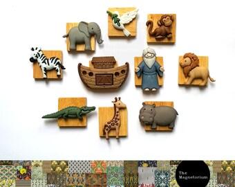 Noah's Ark Fridge Magnet Set
