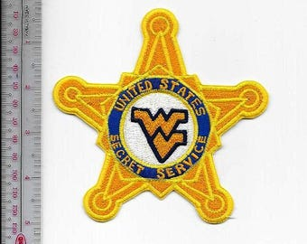 US Secret Service USSS West Virginia Charleston Field Office Mountaineers Agent Service Patch