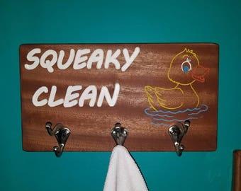 Towel/ bathrobe rack