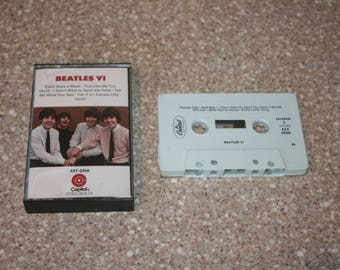 The Beatles VI Cassette Tape