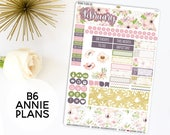 Annie Plans B6 Size Monthly Kit | You pick the month! 550L