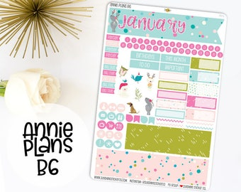 Annie Plans B6 Size Monthly Kit | You pick the month! 781L