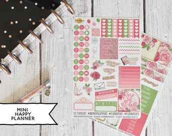Fiesta Floral Planner Sticker Kit | Made to fit the Mini Happy Planner 31L1-2