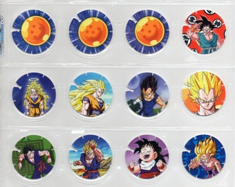 DRAGON BALL Z Tazos Quaker Complete set 30 Cromos Toys Collection Figures Cards