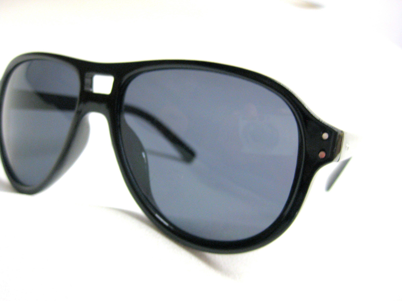 Gratis Versand Vintage Schwarze Sonnenbrille ZEBRA DESIGNER Classic ...