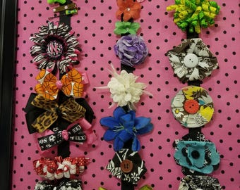 Girls Barrettes and Clips