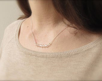 Crystal chain |  925 Silver