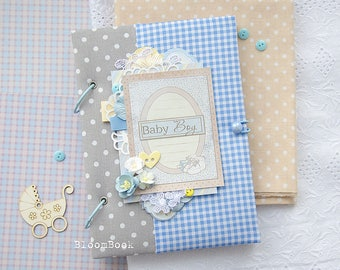Baby Book Boy, Baby Memory Book, Baby Boy Photo Album Photo Book, Newborn Keepsake Book, Baby Book Memory, Boy Gift, Baby Record Book