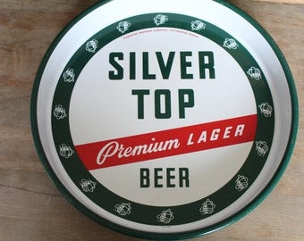 Silver Top Beer tray