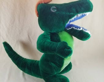 Florida Gator Plushie ~ Albert ~ School Mascot ~ Plush Animal ~ Souvenir Plushie ~ Stuffed Alligator ~ Plush Doll ~ Seths Vintage Emporium