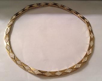 deco style MONET necklace/choker