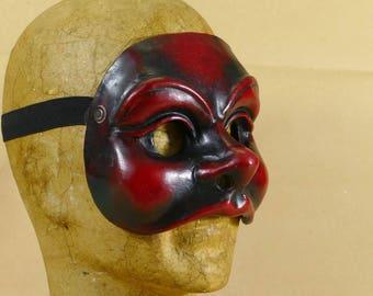 Colombina - Commedia dell'Arte mask in papier maché