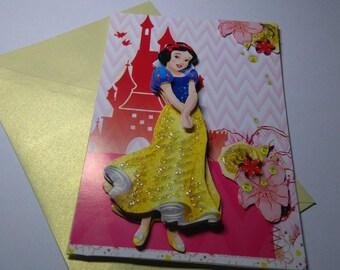 Child 691 handmade 3D card