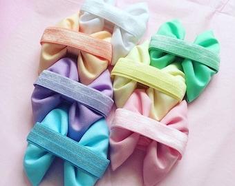Pastel rainbow set