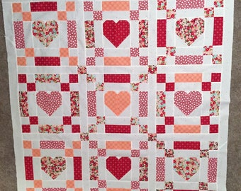 Chains of Love Quilt Kit with The Good Life Fabric