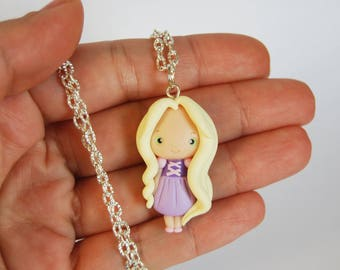 OUTLET! Sale! Rapunzel's Necklace in fimo