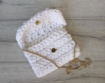 Crochet Bag Pattern, Small Bag Pattern, Crochet Purse Pattern, Crochet Pattern, Easy Crochet Pattern, Flower Girl bag, DIY, PDF, Bride Tribe