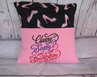 Pink Shoes Pocket Pillow/bed pillow
