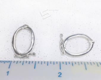 Sterling Silver Pearl Strand Enhancer, 925 Silver Pearl Necklace Enhancer, Silver Pearl Enhancer