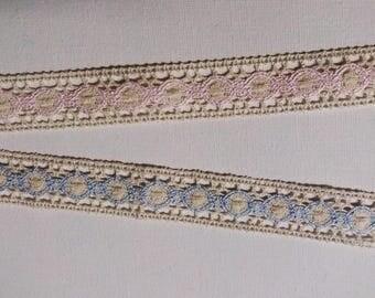 Cotton lace trim 25 mm