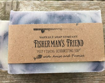 Fisherman's Friend Hand Soap/Fisherman's Friend Hand and Body Bar/Deodorizing Soap/Grease Monkey Soap