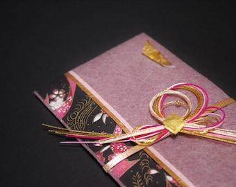 """38.Mizuhiki envelopes This envelope is used for each celebration. A special envelope called """"noshibukuro"""""""
