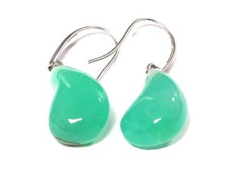 Chrysoprase Earrings