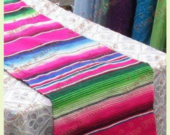 Serape Table Runner   Mexican Table Runner   Saltillo Serape   For Wedding  U0026 Parties 13