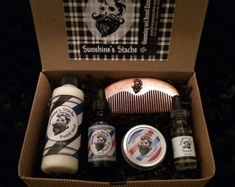 Gift his Beard! Box of beard care products!!