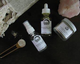 Lavender Rose Facial Kit | Floral Facial Kit | Botanical Skincare Facial | Botanical Facial Kit | All Natural Spa Kit | Vegan Skincare