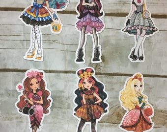Ever After High Die Cuts-Set 1 Main Characters