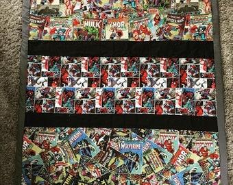 Superhero quilt | Etsy : superhero quilts - Adamdwight.com