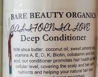 16oz California Love Deep Conditioner // Cowash // Co Wash // curly hair // natural hair // low porosity // detangler // Vitamins // PrePoo