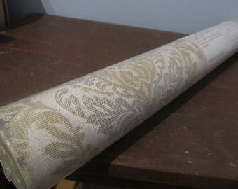 Roll of Vintage Wallpaper Made in Yugoslavia NOS