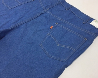 LEVI'S With a Skosh More Comfort Orange Tab VTG Deadstock Comfort Jeans 50x30