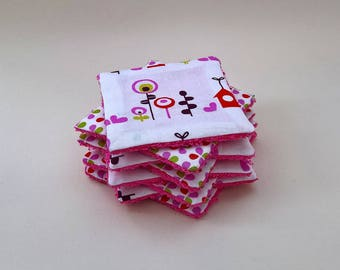 Set of 8 large wipes for baby or MOM