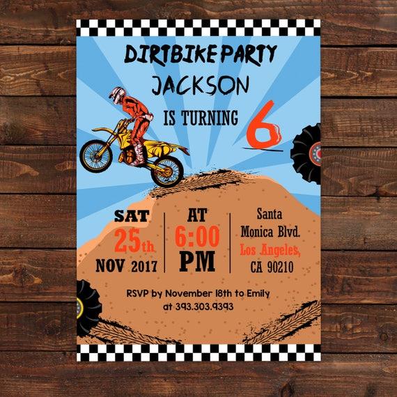 Motocross birthday invitation motocross party invitation boys il570xn filmwisefo