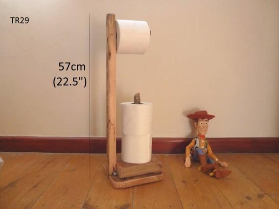 porte rouleau de papier toilette bois flott. Black Bedroom Furniture Sets. Home Design Ideas