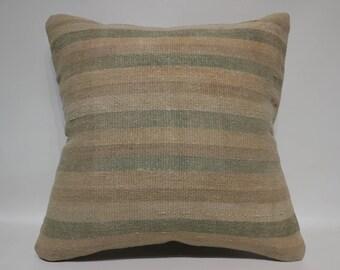 Large Turkish Kilim Pillow Sofa Pillow Home Decor Ethnic Pillow 24x24 Anatolian Kilim Pillow Bohemian Kilim Pillow Cushion Cover SP6060-1436