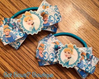 Cinderella Ponytail Holders (set of 2)