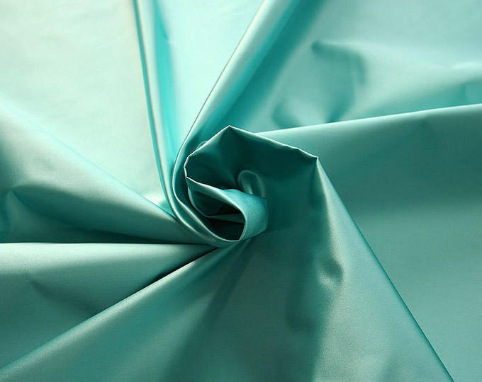 276095-Satin Natural silk 100%, width 135/140 cm, made in Italy, dry cleaning, weight 180 gr